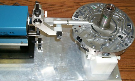 PDI Surface Finish Measurement System for Oil Pump Cover-Stator Shaft Assembly